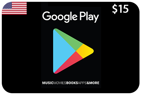 Google Play 15$