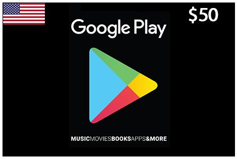 Google Play 50$