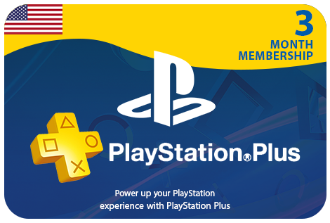 PS Plus 3 Month - USA