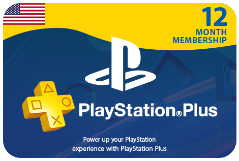 PS Plus 12 Month - USA
