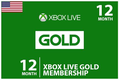 Xbox 12 MontheCodes