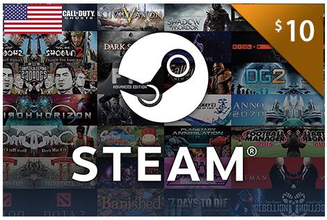 $10.00 Steam eCodes