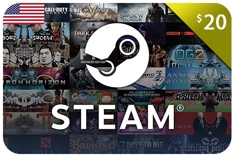 $20.00 Steam eCodes