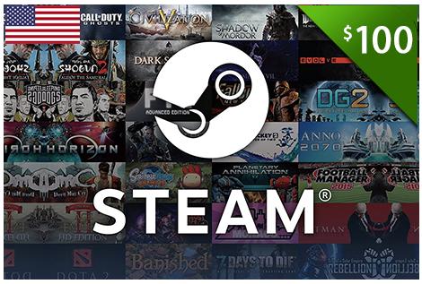 $100.00 Steam eCodes