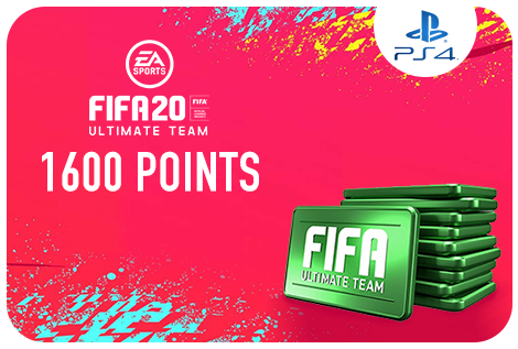 1600 FIFA 20 Points Pack