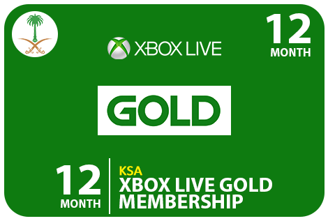 Xbox 12 Monthe KSA Codes