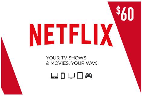 Netflix USA 60$