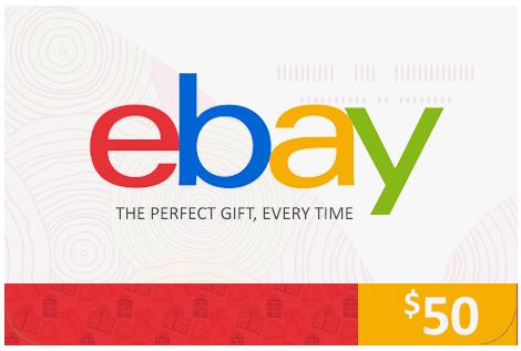 ebay 50$ USA
