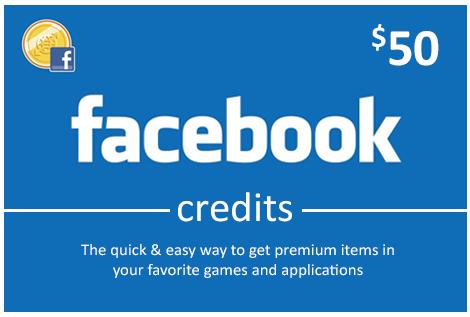 Facebook 50 USD