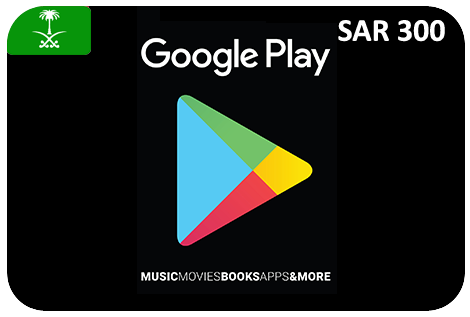 Google Play 300 SAR