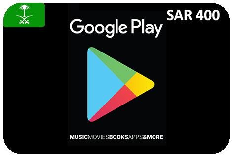 Google Play 400 SAR