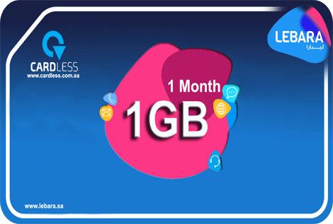Lebara 1GB 1M