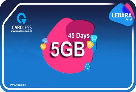 Lebara 5GB 45D