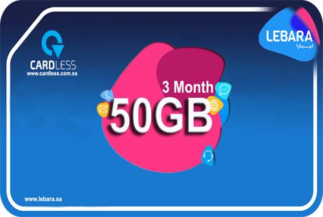 Lebara 50GB 3M