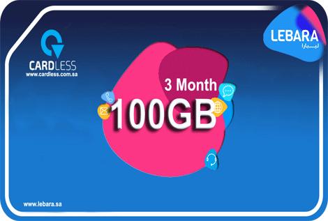 Lebara 100GB 3M