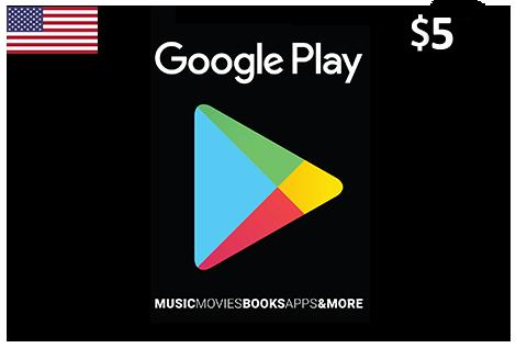 Google Play 5$