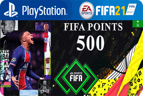 FUT21 FIFA 500 Points KSA
