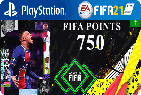 FUT21 FIFA 750 Points KSA
