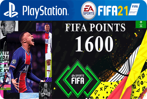 FUT21 FIFA 1600 Points KSA