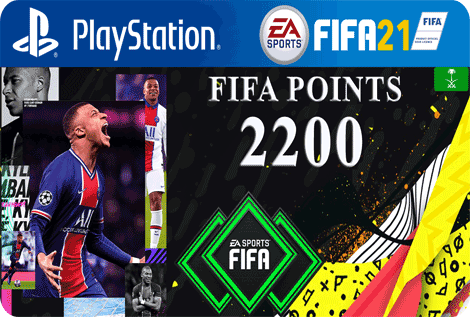 FUT21 FIFA 2200 Points KSA