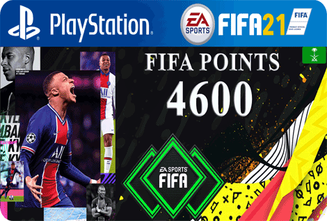 FUT21 FIFA 4600 Points KSA
