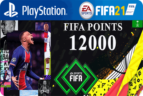 FUT21 FIFA 12000 Points KSA